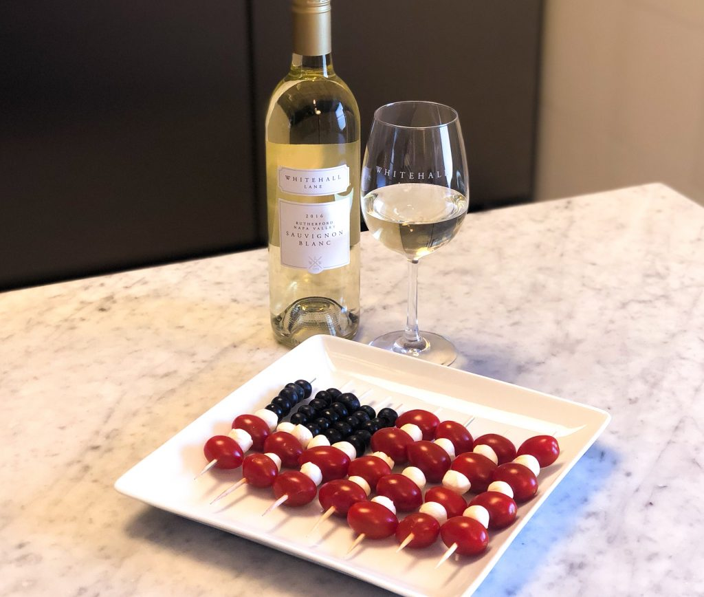 Patriotic Blueberry Caprese Salad Kabobs Recipe